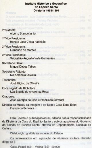Morro do Moreno - Personalidades Capixabas - Maior que o